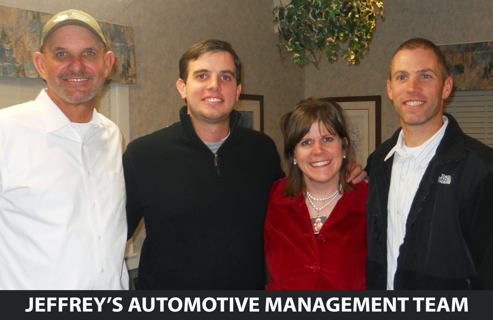 Jeffrey's Automotive - Management Team - Family-Owned & Operated - Christian Business