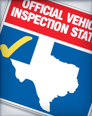 Official Vehicle Inspection Station of the State of Texas