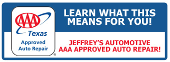 Looking for an AAA approved auto repair facility in the Fort Worth area?  Jeffrey's Automotive wants to be your mechanic for life!