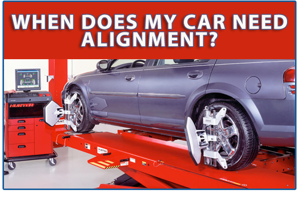 Fort Worth Mechanic:  When Do I Need An Alignment On My Car?