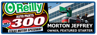 Press Release:  Fort Worth Mechanic Featured Starter at Texas Motor Speedway