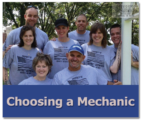 Looking for a Christian mechanic?  Jeffrey's Automotive Repair in Fort Worth is your place!