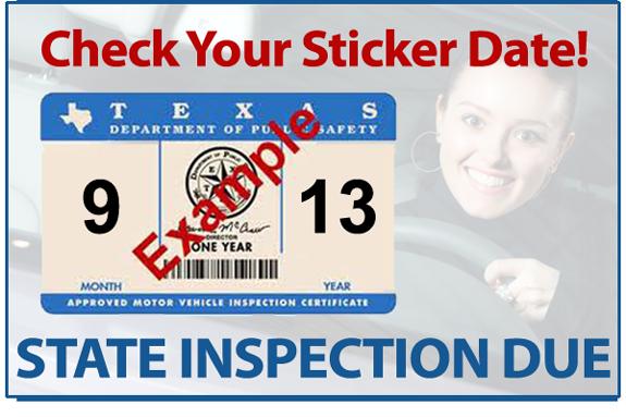 Jeffrey's Automotive State Inspection September 2013