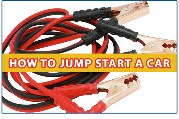 Battery: How to Jump Start a Car - Jeffrey's Automotive - Fort Worth