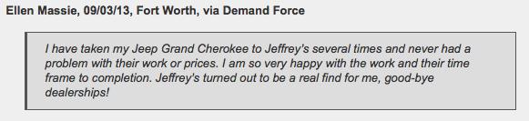 Jeffrey's Automotive Repair in Fort Worth