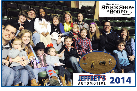 Fort Worth mechanic - family tradition at the Fort Worth stock show and rodeo