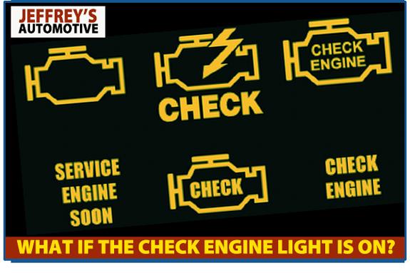 Check engine light: let Jeffrey's Automotive fix it!