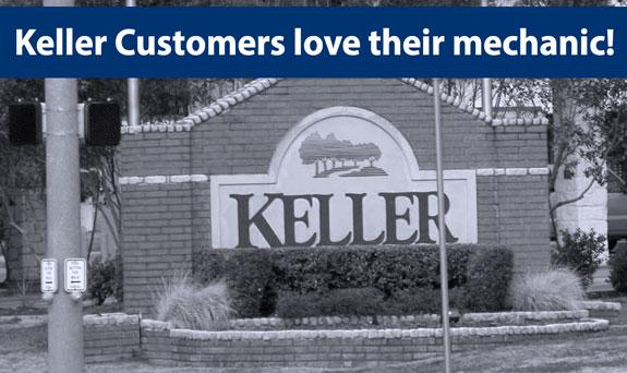 Keller Mechanic Car Repair