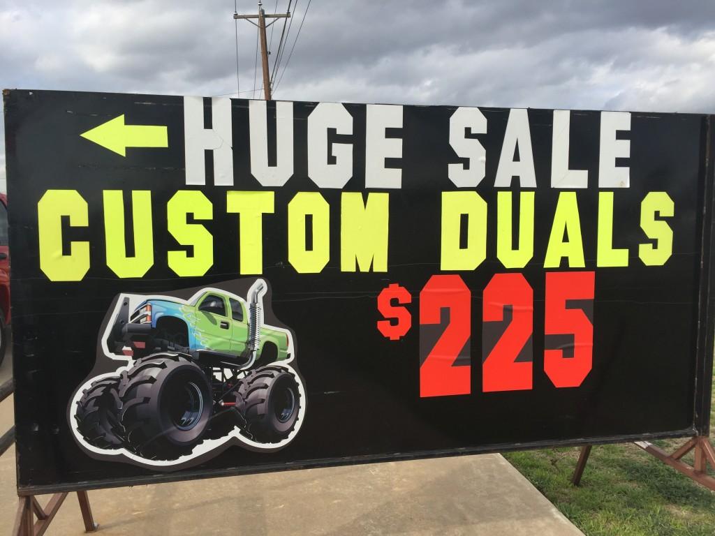"Dallas customer says Jeffrey's Automotive has a ""muffler artist"""