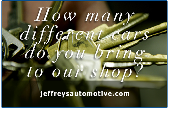 NRH customer brings Mercedes-Benz, Fiat, BMW and Ford Truck to Jeffrey's Automotive