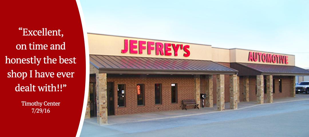 Jeffrey's Automotive - Mechanic - Garage - Fort Worth