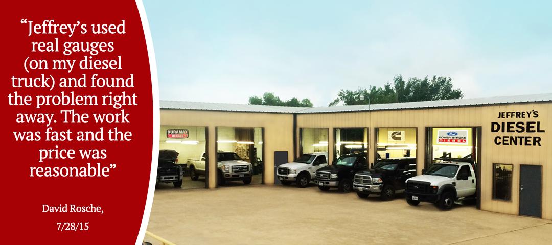 Jeffrey's Diesel Repair & Service - Fort Worth - Review