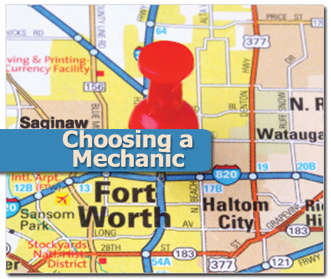Customers travel from all over Fort Worth to use Jeffrey's Automotive Repair!