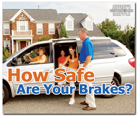 Fort Worth Mechanic: How Safe Are Your Brakes This Summer?