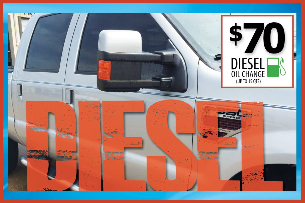 $70 Diesel Oil Change - Fort Worth