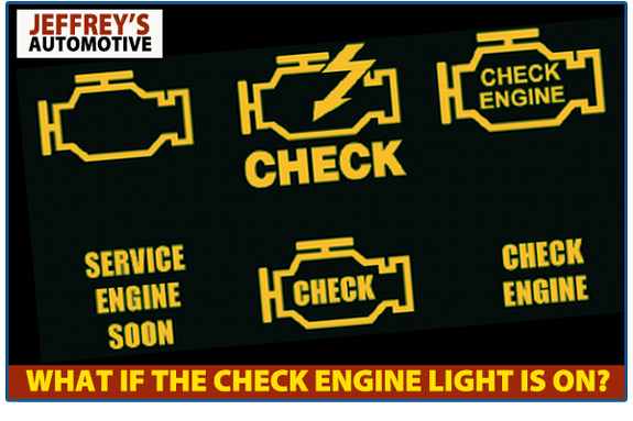 Check engine light: let Jeffrey's Automotive fix it!