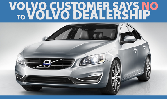 Volvo customer says NO to dealership and YES to Jeffrey's Automotive in Fort Worth