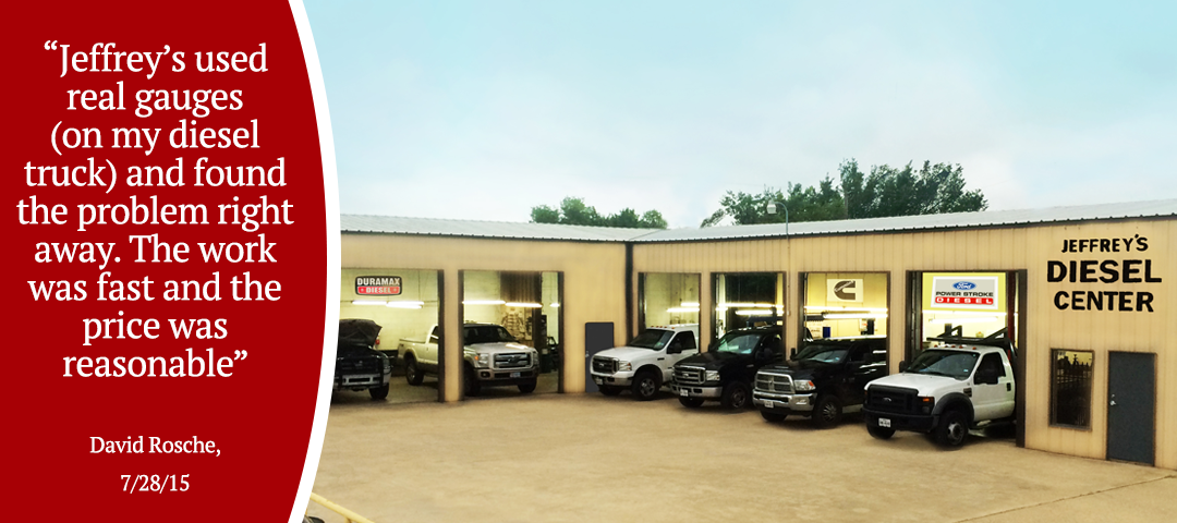 Jeffrey's Diesel Repair & Service - Fort Worth - Review