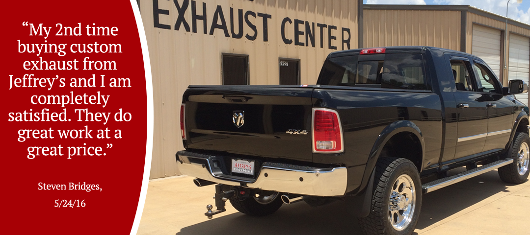 Jeffrey's Automotive - Fort Worth Exhaust - Review